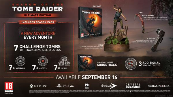 Shadow of the Tomb Raider detalla los contenidos del Season Pass