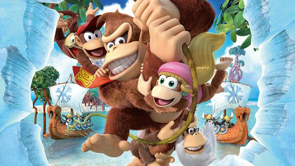 El arte de Donkey Kong: Tropical Freeze para Nintendo Switch