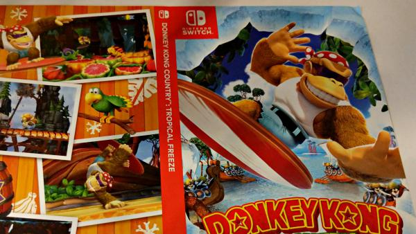 Donkey Kong: Tropical Freeze tendrá una portada reversible