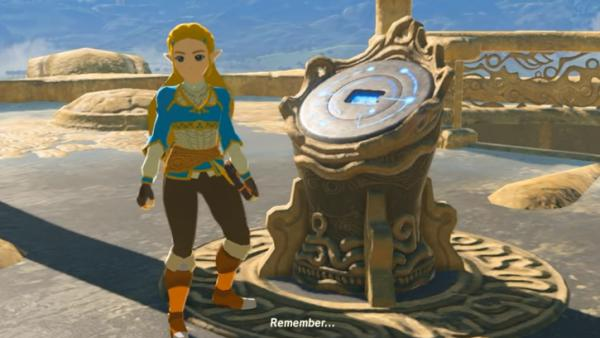 Jugar a Breath of the Wild como Zelda es posible