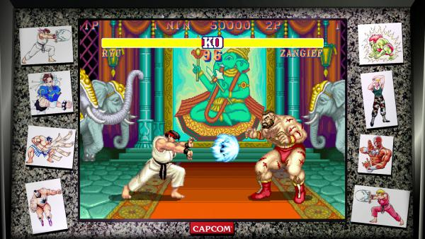 Detallados los modos de Street Fighter 30th Collection