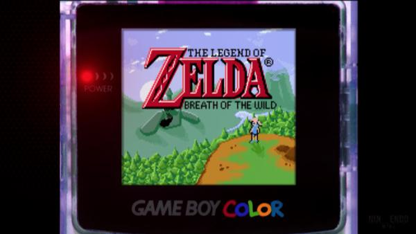 Imaginan Zelda: Breath of the Wild en Game Boy Color