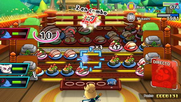 Sushi Striker: The Way of Sushido, Impresiones