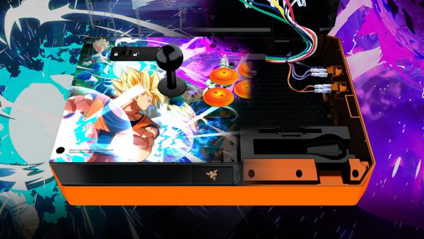 Dragon Ball FighterZ recibe dos nuevos arcade sticks de Razer