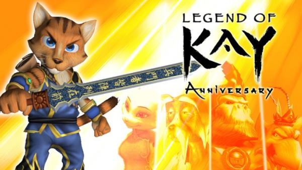 Legend of Kay Anniversary ya disponible para Nintendo Switch