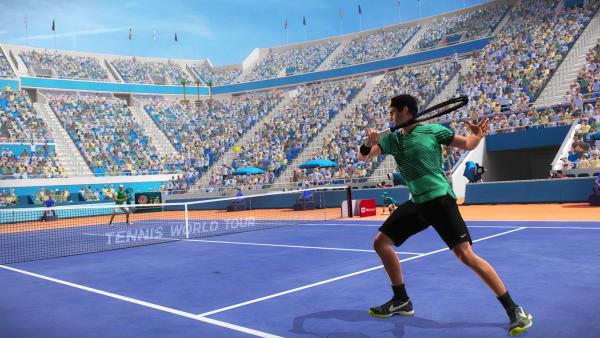 Tennis World Tour se lanzó al mercado sin terminar