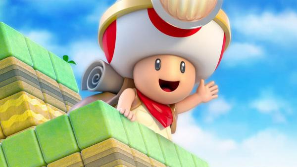 Captain Toad: Treasure Tracker pesa menos en Switch que en Wii U