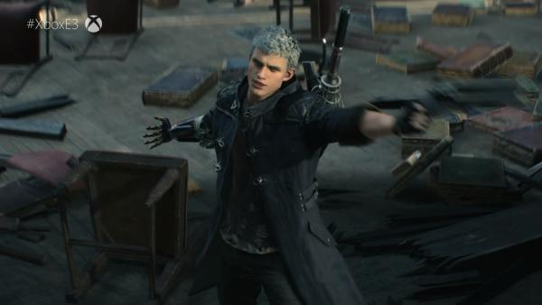 Devil May Cry 5 llegará en primavera a PC, Xbox One y PS4