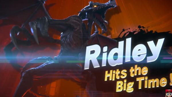Super Smash Bros. Ultimate presenta a Ridley