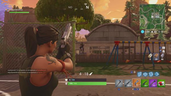 Así es Fortnite: Battle Royale en Nintendo Switch