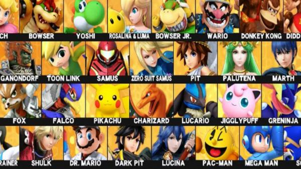 Super Smash Bros. Ultimate: Todos personajes confirmados