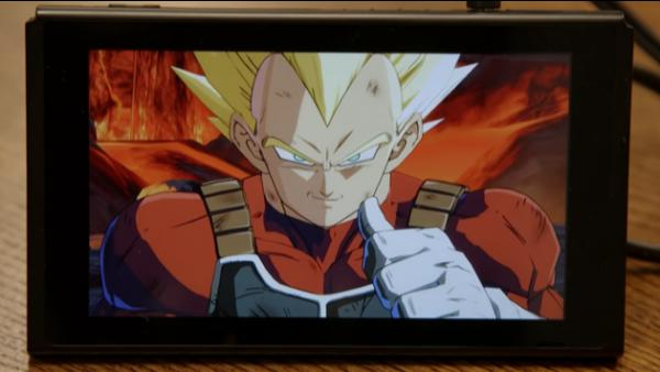 Así se ve Dragon Ball FighterZ en Nintendo Switch