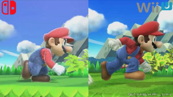 Comparativa gráfica Super Smash Bros. Ultimate vs. Wii U