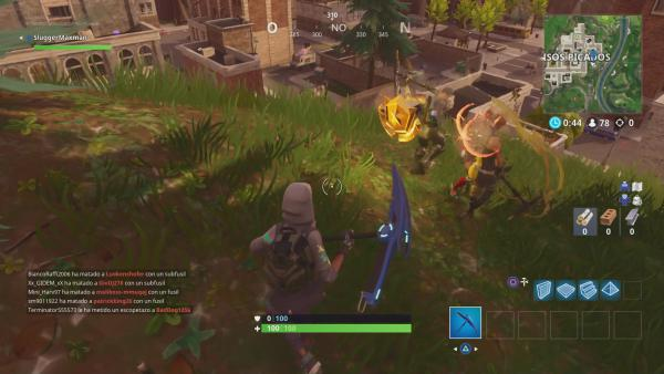 Fortnite: Battle Royale: Sigue el mapa del tesoro de Parque Placentero