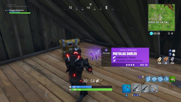 Así son las Pistolas Dobles en Fortnite Battle Royale