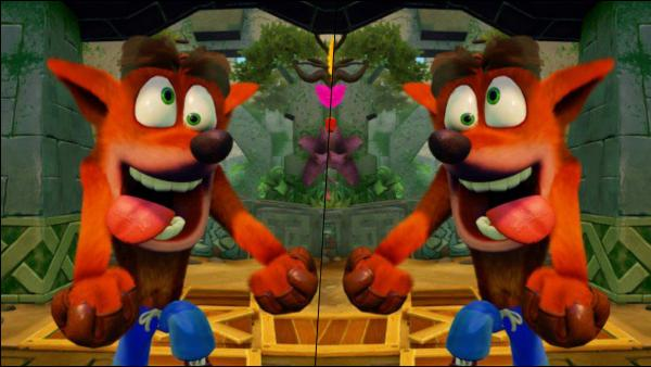 Comparan los gráficos de Crash Bandicoot en PS4 y Switch