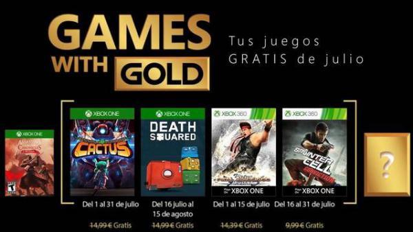 Anunciados Los Games With Gold De Xbox Para Julio 2018 Meristation