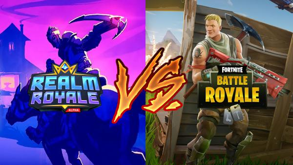 Realm Royale o Fortnite Battle Royale: ¿a cuál jugar?