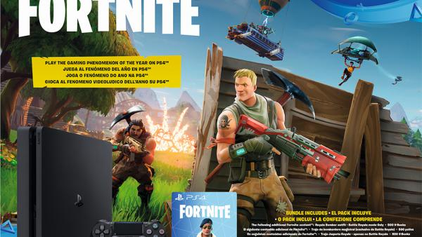 Ya disponible en el pack de PS4 con Fortnite Battle Royale