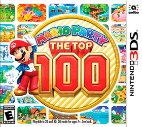 Carátula de Mario Party: The Top 100
