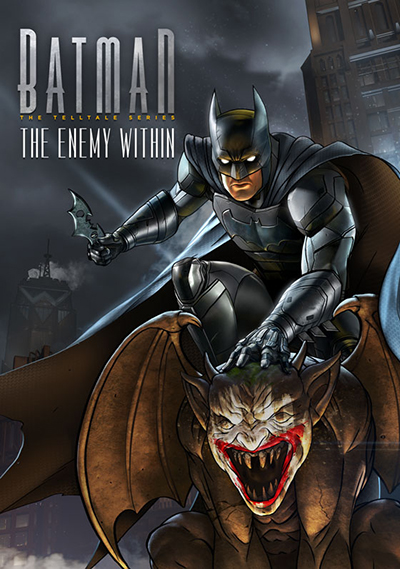 Carátula de Batman: The Enemy Within - The Telltale Series