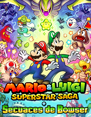 Carátula de Mario & Luigi: Superstar Saga + Secuaces de Bowser