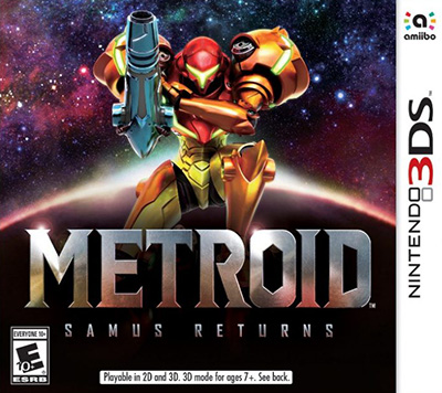 Carátula de Metroid: Samus Returns