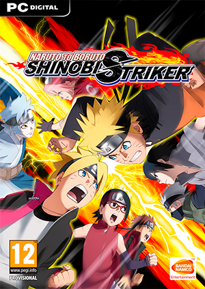 Carátula de Naruto to Boruto: Shinobi Striker
