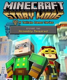 Carátula de Minecraft: Story Mode - Episode 2: Assembly Required