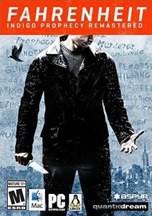 Carátula de Fahrenheit: Indigo Prophecy Remastered