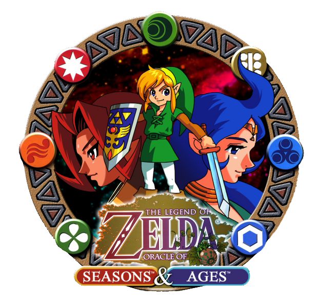 Carátula de The Legend of Zelda: Oracle of Seasons & Ages