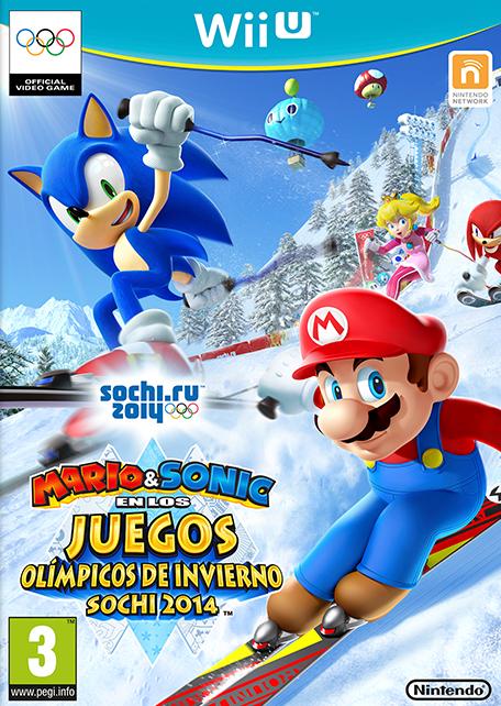 Mario Sonic En Los Juegos Olimpicos De Invierno Sochi 2014