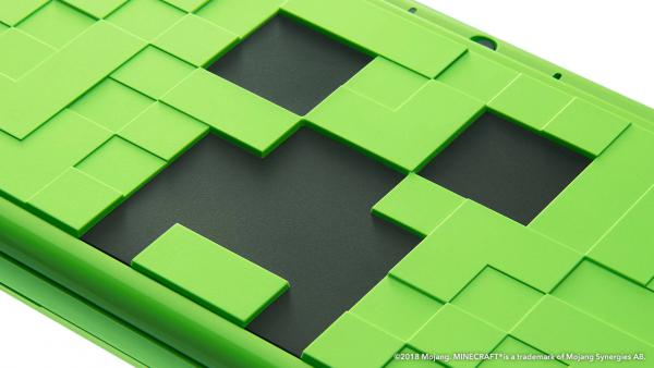 Anuncian la New 2DS XL estilo Minecraft y nuevos packs