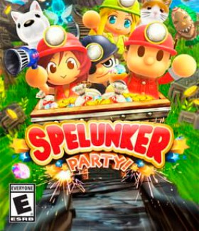 Carátula de Spelunker Party!
