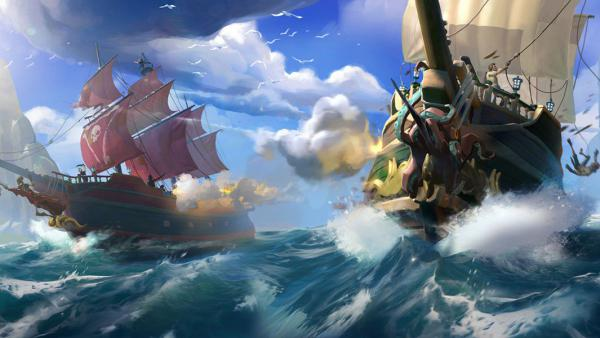 Rare se plantea añadir battle royale a Sea of Thieves