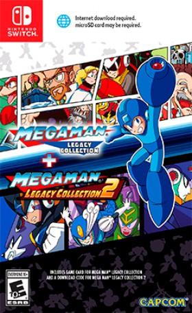 Carátula de Mega Man Legacy Collection 1+2