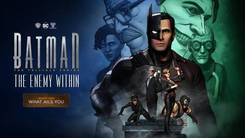 Batman: The Enemy Within, listado para Switch en ESRB