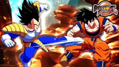 Dragon Ball FighterZ añadirá a Goku y Vegeta Base en agosto