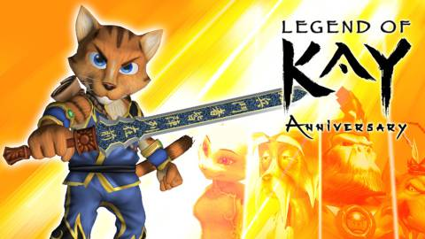 Legend of Kay Anniversary, análisis Switch