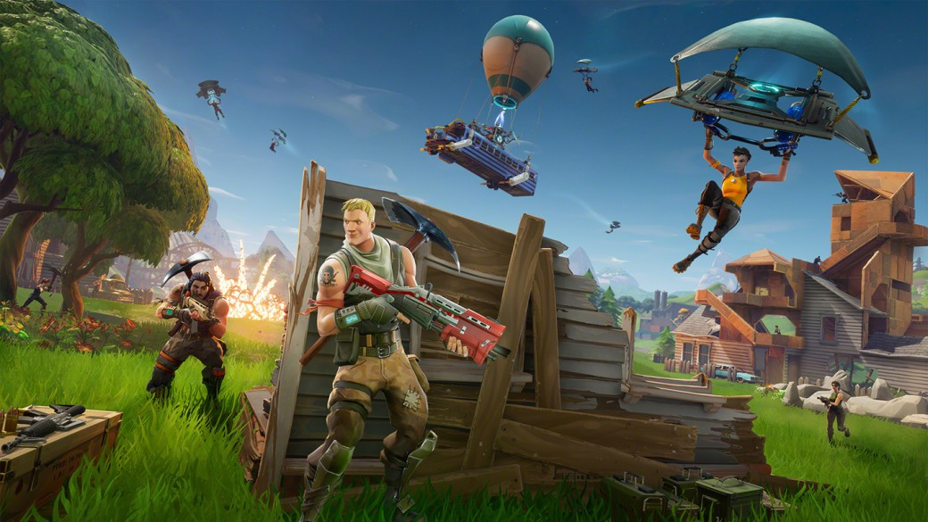 Usa diferentes objetos que se lanzan fortnite