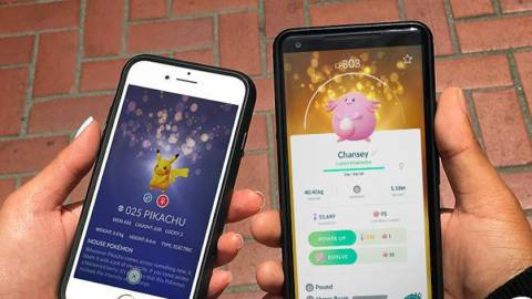 Pokémon Go introducirá los 'Lucky' Pokémon