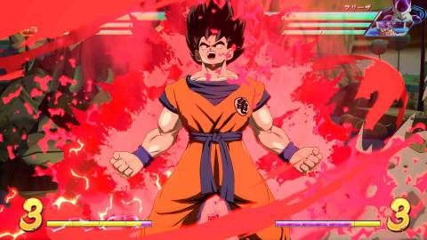 Dragon Ball FighterZ muestra a Goku y Vegeta base en vídeo