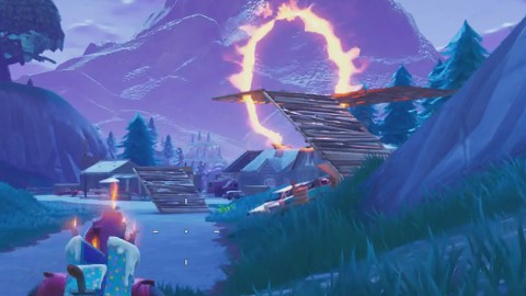 Fortnite Battle Royale: Dónde encontrar los círculos llameantes