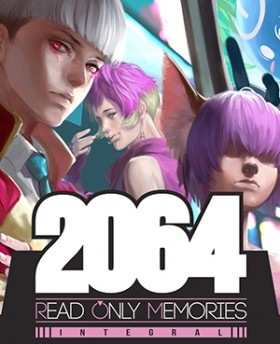 Carátula de 2064: Read Only Memories INTEGRAL