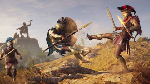 Assassin's Creed Odyssey, nuevo gameplay con su combate a distancia