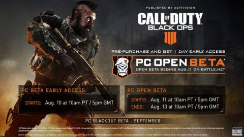 BETA de Call of Duty Black Ops 4: Requisitos del sistema en PC