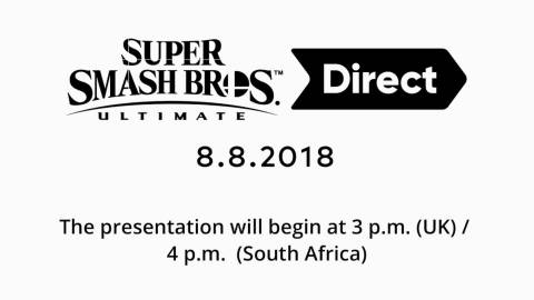 Vuelve a ver el Super Smash Bros. Ultimate Direct