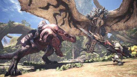 Monster Hunter World para PC bate récords en Steam