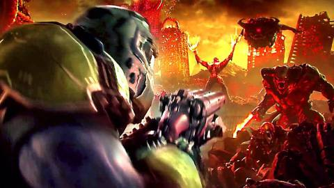 Doom Eternal presenta su primer gameplay y confirma lanzamiento en Nintendo Switch