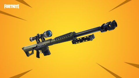 Fortnite Battle Royale: Así es el fusil de tirador pesado